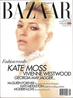 UK Bazaar, Kate Moss, Kate Middleton, Georgia May Jagger, McQueen, May 2011~NEW British Magazines, Georgia May Jagger, Kate Moss, Vivienne Westwood, Kate Middleton, Mcqueen, Editorial, Women's Fashion, Ebay