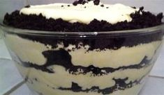 """Δροσερό γλυκό ψυγείου """"Χώμα"""" με 3 υλικά σε 3 κινήσεις #Γλυκά"""