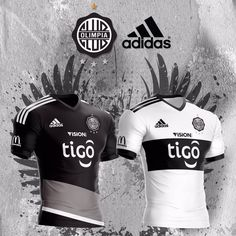 Camisas do Club Olimpia 2017 Adidas