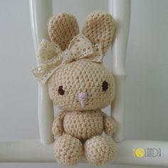 Bunny. Crochet. Handmade. Toy. Kids.
