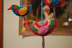 Ravelry: Birdie Decoration pattern by Lucy of Attic24