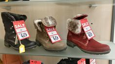 Toasty toes guaranteed with warm winter boots from the Luck of Louth winter sale.