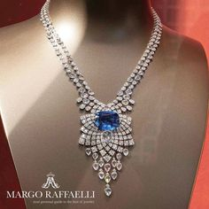 Throwback to #biennaledesantiquaires 2014 where @cartier presented The Royal, a #HauteJoaillerie collection with super rare stones ❤️ Credit: www.margoraffaelli.com