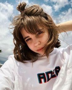 ✔ Cute Hairstyles With Bangs Aesthetic bangs aesthetic Girl Short Hair, Short Hair Cuts, Bangs Short Hair, Cut My Hair, New Hair, Hairstyles With Bangs, Pretty Hairstyles, Bang Hairstyles, Sweet Hairstyles