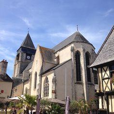 Église Saint-Martin d'Aubigny-sur-Nère (18700, Cher).