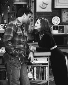 Ross and Rachel (loved them as a couple)