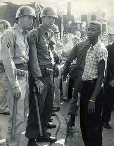 Little Rock, Arkansas 1957 -  #Faubus #civilrights via Our Presidents: Photo