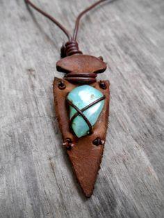 Pretty necklace UNISEX NATIVE AMERICAN inspired by Minouchkita