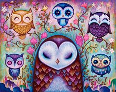 """""""The Great Big Owl"""" Limited Edition Print"""