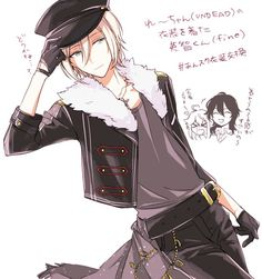 Eichi in the UNDEAD outfit