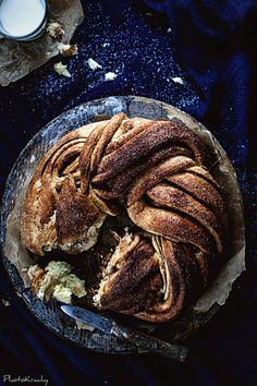 braided cinnamon wreath