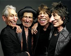 The Rolling Stones  (By RodneyPike)