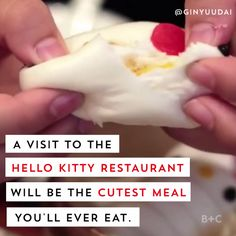 A visit to the Hong Kong-based Hello Kitty Restaurant will be the cutest (and most Instagrammable) meal of your life.