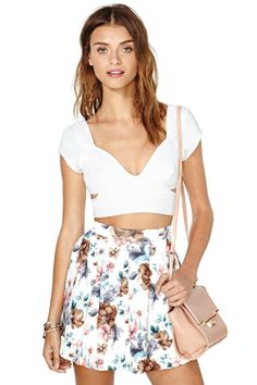 Nasty Gal Not Your Sweetie Top