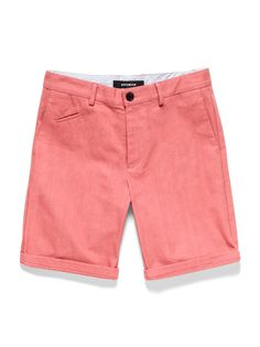Bespoken Selvage Cotton Shorts at Park & Bond