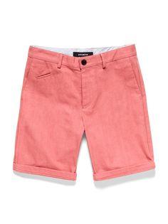 Bespoken Selvage Cotton Shorts at Park & Bond