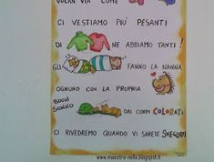 maestra Nella: Autunno - poesia illustrata Bullet Journal, Education, Hobby, Geography, Winter Time, Teachers, Spring, Onderwijs, Learning