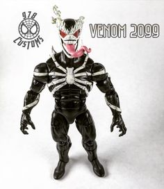 venom 2099 custom Marvel Legends spiderman 6 action figure