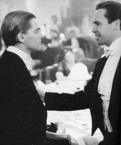 "Billy Zane on filming Titanic: ""Working with Leo was like having a little brother on the set. It got pretty silly. We were into hallway bowling. Titanic Ship, Titanic Movie, Rms Titanic, Movie Tv, Titanic Quotes, Titanic Behind The Scenes, Titanic History, Billy Zane, Romance Movies"