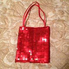 Hot and spicy formal red handbag Fun and flirty little red handbag. Perfect for prom or any formal event. Bags