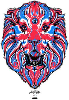 #lion #illustration