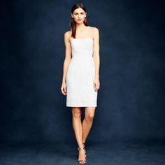 J.Crew Mackenna dress in Leavers lace $295