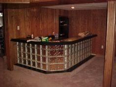 glass block bar | Glass Block Professionals | Photos