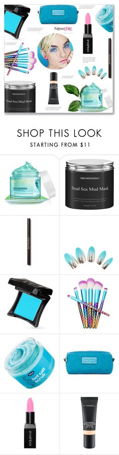 """Newchic beauty"" by arohii ❤ liked on Polyvore featuring beauty, Illamasqua, Bliss, Marc Jacobs, Smashbox and MAC Cosmetics"