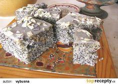 BUŠI tvarohový makovec recept - TopRecepty.cz 20 Min, Gingerbread, Food And Drink, Cake, Desserts, Pie Cake, Tailgate Desserts, Pie, Deserts