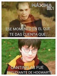 Harry Potter y Cantinflas en Hogwarts Harry Potter Tumblr, Harry Potter Love, Harry Potter Memes, Harry Potter World, Funny Images, Funny Pictures, Spanish Memes, Book Memes, Hogwarts