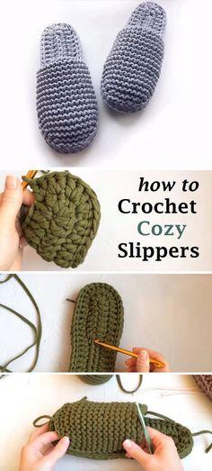 Crochet Cozy, Crochet Socks, Crochet Crafts, Yarn Crafts, Crochet Clothes, Free Crochet, Beginner Crochet, Etsy Crafts, Easy Knitting Projects