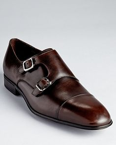 Salvatore Ferragamo Addo Double Monkstrap Dress Shoes - All Shoes - Shoes - Men's - Bloomingdale's