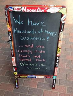 funny coffee shop sign