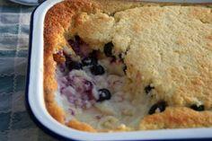 Lemon Blueberry Pudding