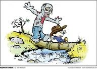 Crossover - Calvin and Hobbes/Walking Dead
