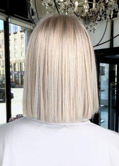 My perfect blond - Cabello Rubio Medium Hair Styles, Short Hair Styles, Blonde Hair Looks, Platinum Blonde Hair, Short Blonde, Blonde Balayage, Dyed Hair, Hair Makeup, Hair Cuts