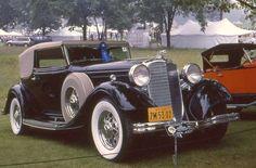 1933 Lincoln KB Brunn convertible victoria