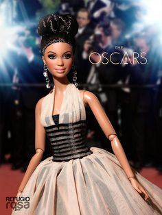 The Oscars 2014 (VENDIDA - SOLD OUT) Barbie Ooak doll by David Bocci for Refugio Rosa.