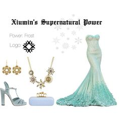 EXO Xiumin Supernatural Power Inspired Outfit by nanrelladu on Polyvore featuring Gucci, Alexander McQueen, Betsey Johnson and Tità Bijoux