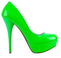 neon green!! yummy!!