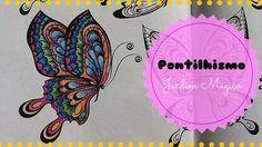 Livro de Colorir - Técnica de Pontilhismo | Luciana Queiróz