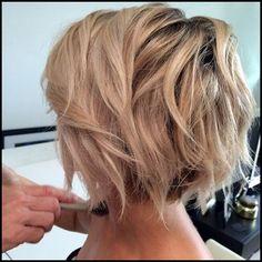 10 Stylish Messy Short Hair Cuts: Attractive Women Short Hairstyles Blonde Short Haircut – Messy Short Hairstyles for Thick Hair Short Messy Haircuts, Wavy Bob Haircuts, Messy Short Hair, Short Hairstyles For Thick Hair, Round Face Haircuts, Messy Hairstyles, Short Hair Styles, Curly Hair, Hairstyle Ideas