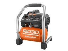 Get pumped up for the Ridgid Brushless 18V 1-Gallon Air Compressor, the industry's first cordless air compressor with brushless motor technology!    #ridgid #aircompressor #cordless #brushless #18V #pneumatic #tools #powertools #cordlesstools #airtools #carpentry #remodeling #renovation #construction  https://www.protoolreviews.com/tools/air/compressors/ridgid-brushless-18v-1-gallon-air-compressor/28412/