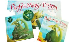 Puff the Magic Dragon Pop-Up Book and Jigsaw Puzzle, $15.99