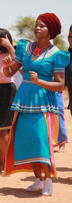 by Fatiki designs Pedi Traditional Attire, Sepedi Traditional Dresses, African Fashion Traditional, African Print Fashion, African Prints, African Fashion Dresses, African Wedding Attire, Our Wedding, Wedding Ideas