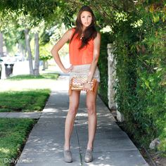 I love creamsicles!!! - Check out Orange Creamsicle Look by Bonnibel, Idea, and MMS at DailyLook