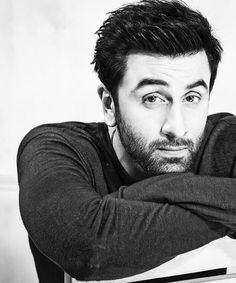 Ranbir Kapoor Photos Black and White 2016