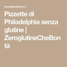 Pizzette di Philadelphia senza glutine | ZeroglutineCheBontà