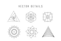 Sacred Geometry Vector Bundle - Illustrations