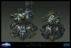 Peter Lee, Starcraft 2, Heroes Of The Storm, Stars Craft, Prop Styling, Bioshock, Art Portfolio, Concept Art, Digital Art